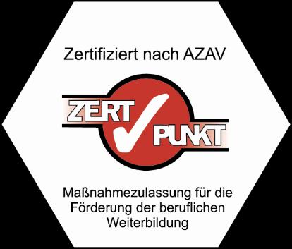 Siegel: Zertifiziert nach AZAV