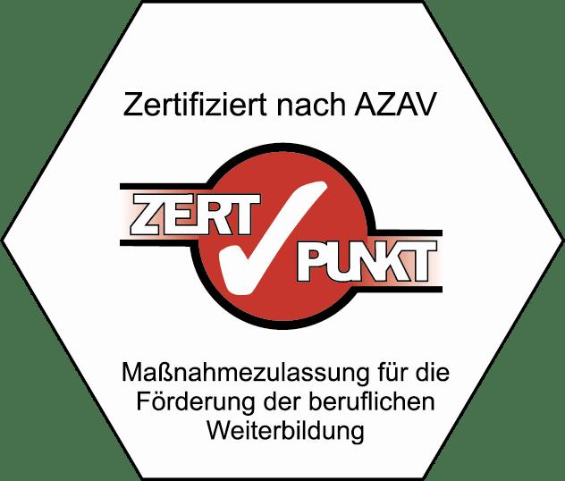 Logo: karriere tutor® wurde von ZERTPUNKT nach AZAV zertifiziert.
